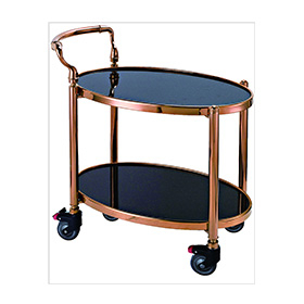 5-Star Hotel Liquor Trolley of Modern Four Wheels (FW-131)