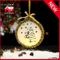 New Product Glass Christmas Round Hanging Decoration