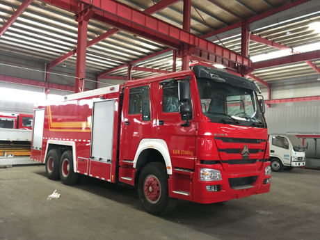 SINOTRUK HOWO 6×4 Fire Fighting Truck