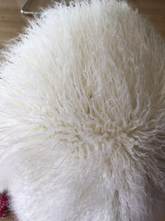 Fluffy mongolian faux fur