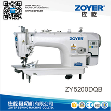 ZY5200DQB zoyer direct drive high speed lockstitch industrial sewing machine with side cutter and hemming