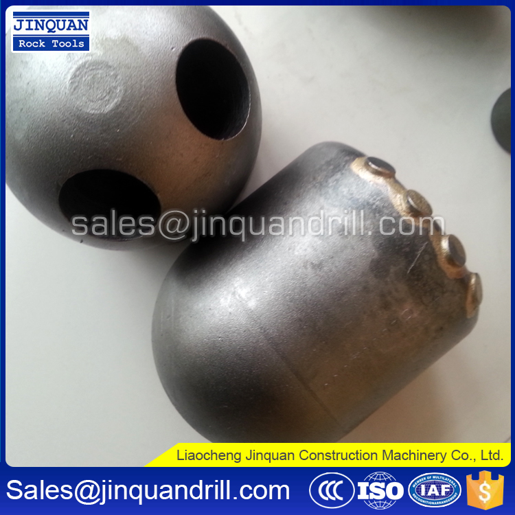 Engineering Construction Foundation Drilling Bullet Teeth Round Shank Conical Cutter Bits Pick Holders