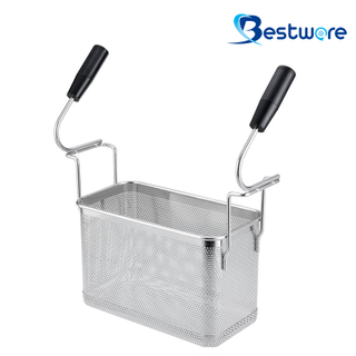 Double Handle SS Pasta Basket (Rectangle)