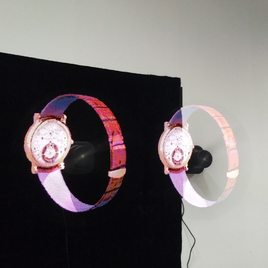 43 cm High Resolution Holographic 3d led fan display