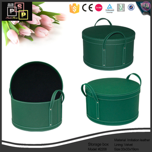 China Manufacturer Household Custom PU Leather, Fabric Cloth Storage Box