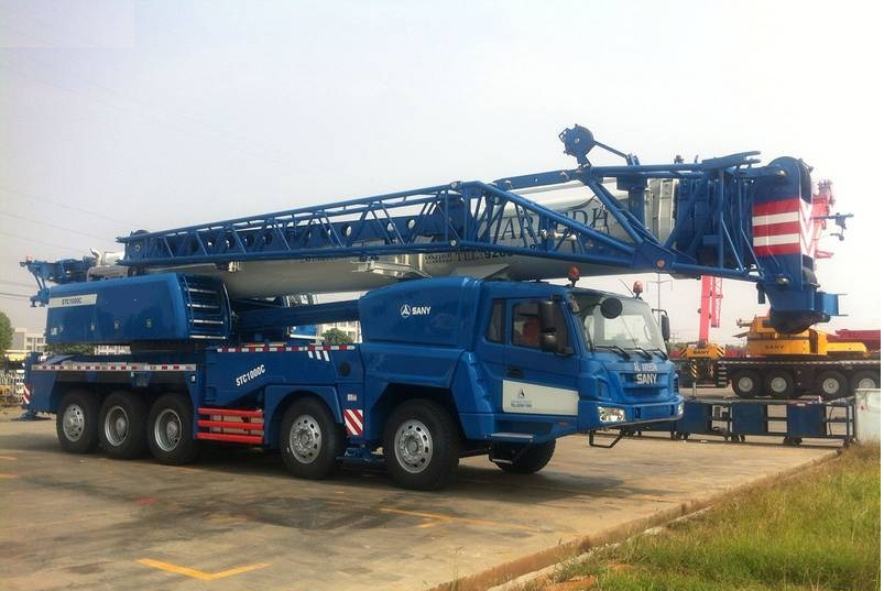 STC1000 Crane for Saudi Arabia (2)