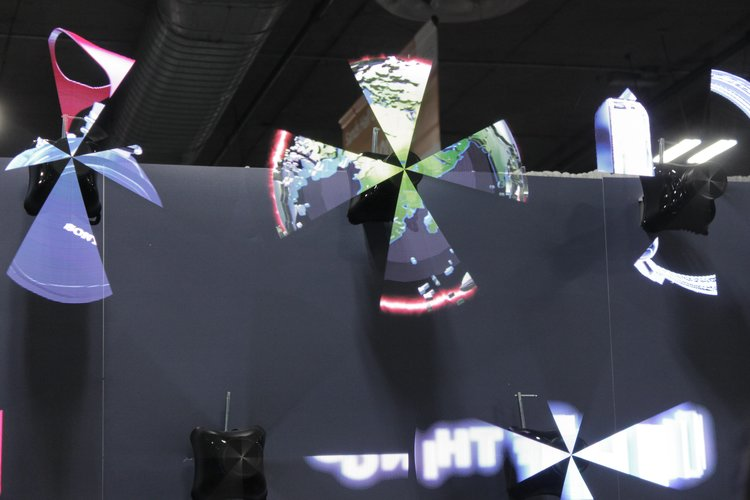 Hypervsn, Holospin supplier, hologram led fan, Holographic