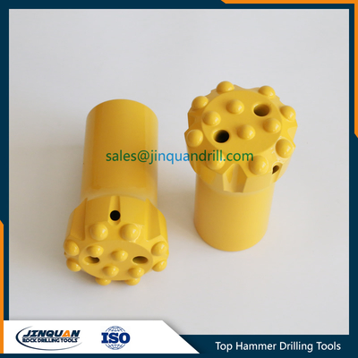 T45 76mm Threaded Button Rock Drill Bit
