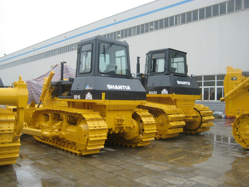 SD13 Shantui small bulldozers