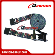 "2"" Military Camouflage Ratchet tie downs"