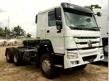 SINOTRUK HOWO 6X4 10 Wheels 371HP Cargo Truck Cargo Chassis for Ethiopia