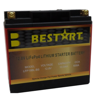 12.8V 10ah Lithium Ion Battery LFP Battery for Motorcycle LFP19BL-BS