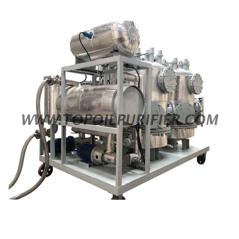 Series TYR-S Oil Decoloration Machine for easily solidify oil