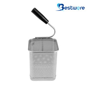 Single Handle SS Pasta Basket - BTW60U228