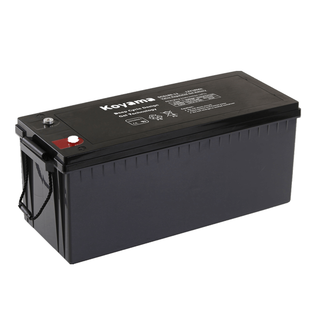 12V200AH Deep Cycle Gel Battery DCG200-12 -CBB
