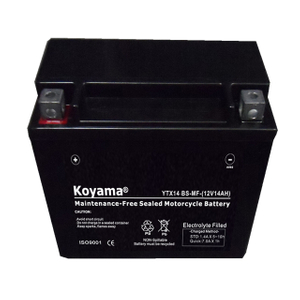 Ytx14-BS-Mf Sealed Maintenance Free Battery 12V SMF Powersport Motorcycles Scooters Atvs