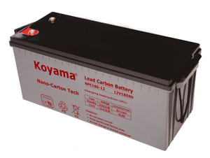 12V 180AH High Quality Deep Cycle Lead Carbon Battery NPC180-12