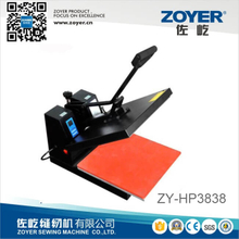 ZY-HP3838 Manual Heat Press Machine Zoyer Industrial Sewing Machine