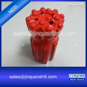 Threaded Button Bits R32 41mm, T38 76mm, T45 89mm, T51 102mm
