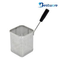 Single Handle SS Pasta Basket - BTW60D338