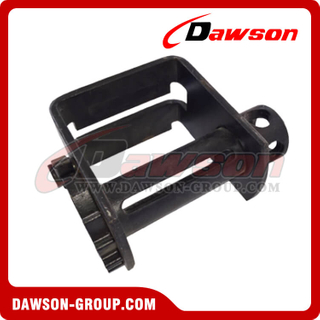 Double L Sliding Winch - Flatbed Truck Winches for Cargo Lashing Straps