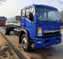 SINOTRUK HOWO 4×2 10T Cargo Chassis for Ethiopia