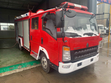 SINOTRUK HOWO Light Truck 4×2 Fire Fighting Truck for sale