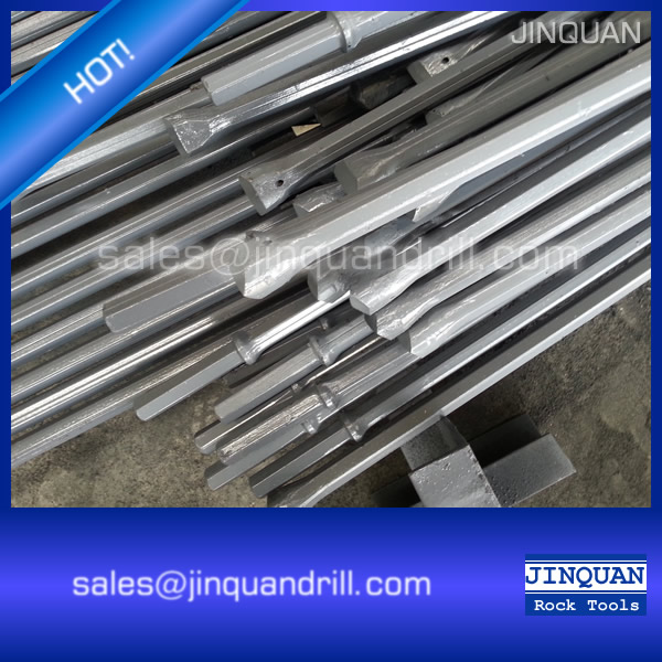 Shank 22*108mm H22-108 Integral Rock Drill Steel Rods