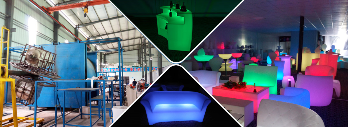led chairs and tables manufacturer