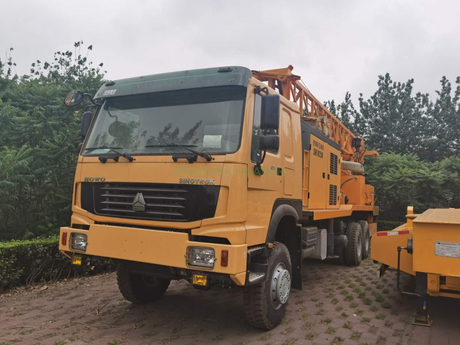 SINOTRUK 6x4 Water Well Drilling Truck