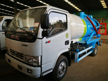 SINOTRUK HOWO Light Truck 4X2 Sewage Suction Truck for sale