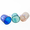 16oz Round Custom Colored Electroplated Glass Candle Jars