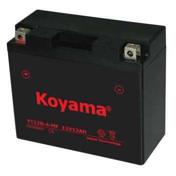 Yt12b-4 Sealed Maintenance Free Battery 12V SMF Powersport Motorcycles Scooters Atvs