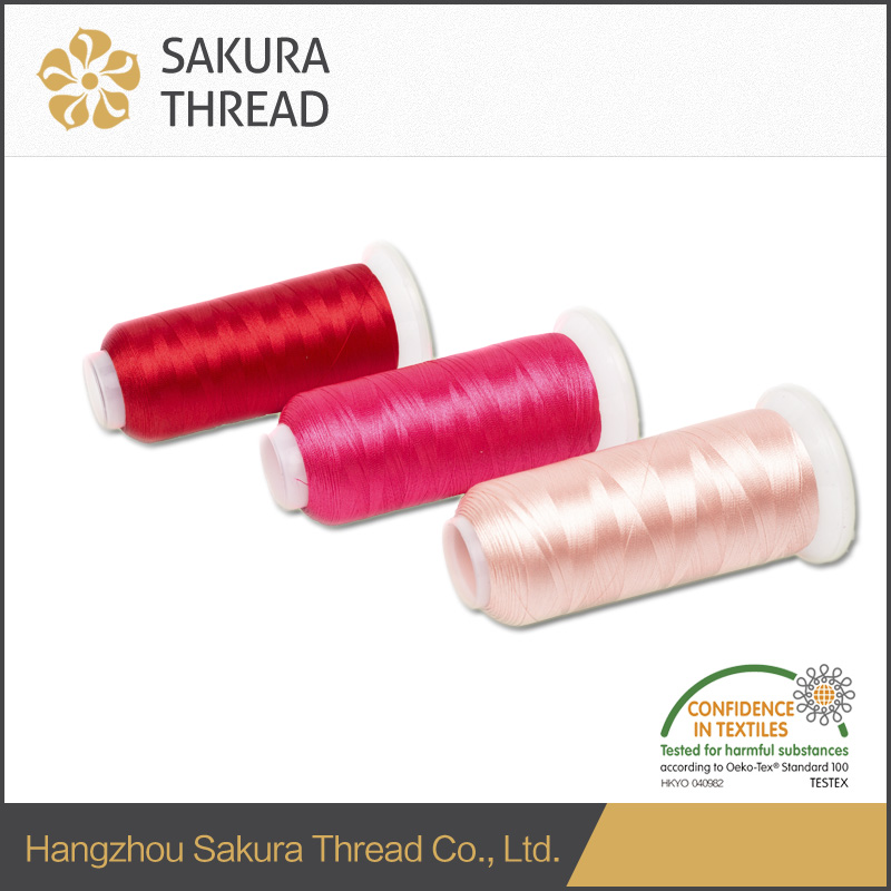 OEKO-TEX 100 1 Class 75D Polyester embroidery thread