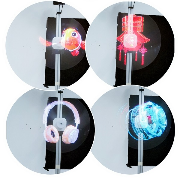 43 Cm 3D Hologram LED Fan Projector with SD card