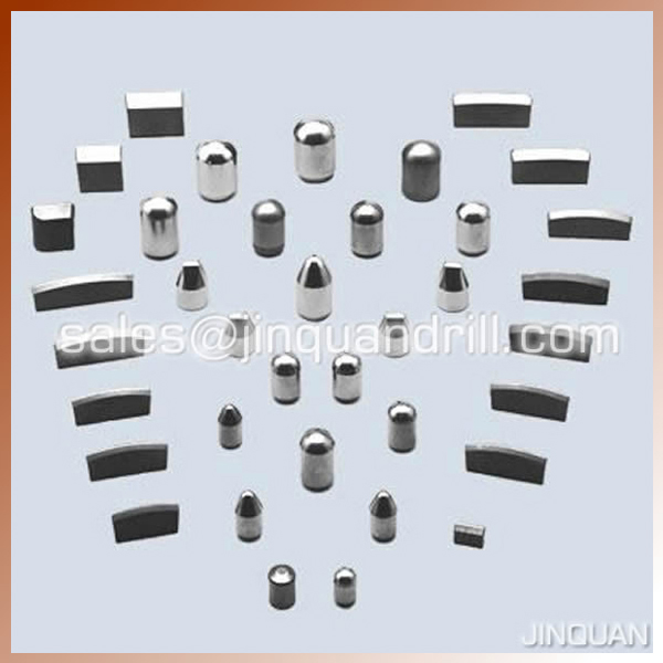 cemented tungsten carbide inserts
