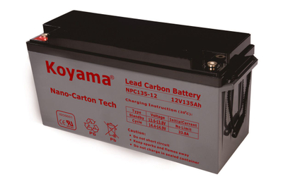 12V 135AH High Quality Deep Cycle Lead Carbon Battery NPC135-12
