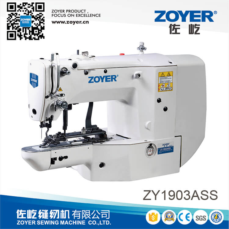 ZY1903A zoyer direct drive button attaching sewing machine