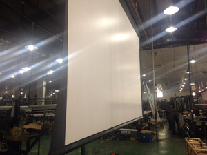 4:3 180Inch Large Projector Electric Projection Screen With Remote Control