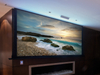 250Inch 4:3 Large Tab-Tensioned Electric Projector Screens With Remote Control