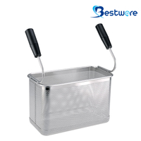 Double Handle SS Pasta Basket (Rectangle) - BTW60S844