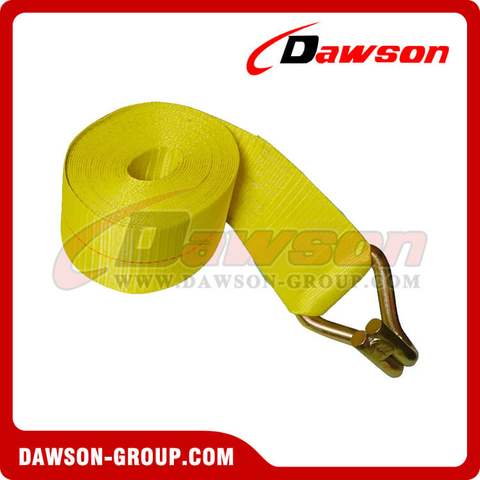 4 inch 30 feet Winch Strap with Wire Hook