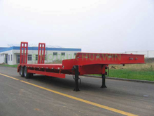 SINOTRUK 2 Axles Lowbed Semi Trailer