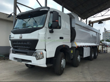 SINOTRUK A7 8X4 Front Tipping Dump Truck for Africa