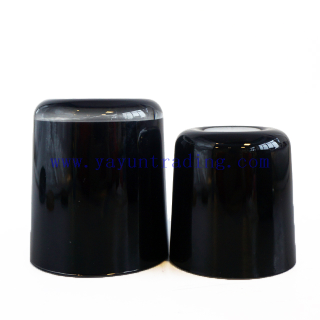 Hot Sale 8oz 12oz 16oz Empty Shiny Inisde Black Glass Candle Vessel