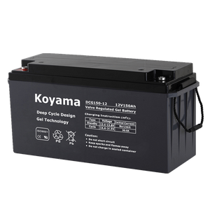 12V150AH Deep Cycle Gel Battery DCG150-12 solar power