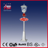 (LV180H-WW) Rainproof Christmas Snowing Vertical Streetlamp with Falling Snow