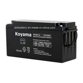 12V 150ah Lead Acid Battery VRLA Rechargeable Battery Np150-12