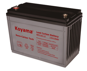 12V 120AH High Quality Deep Cycle Lead Carbon Battery NPC120-12