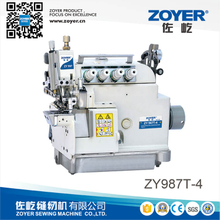 ZY987T-4 Zoyer EX series 4-thread cylinder bed top and bottom feed overlock